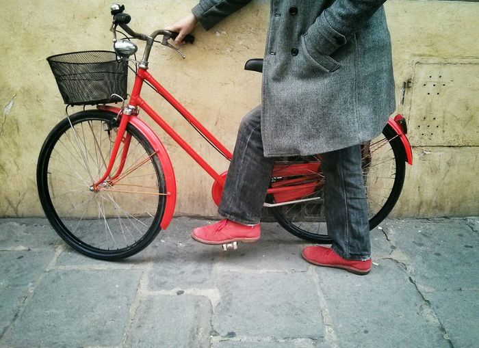 Vscocam VSCO Red Bycicle Shoes Vintage