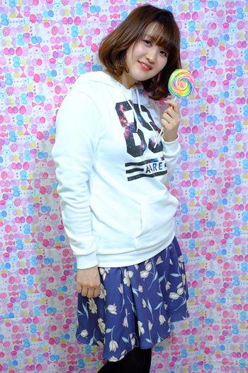 ミディアム ボブ キャンディー 飴 ポートレート 被写体 ホップ キュート カット カラー プログレス 撮影