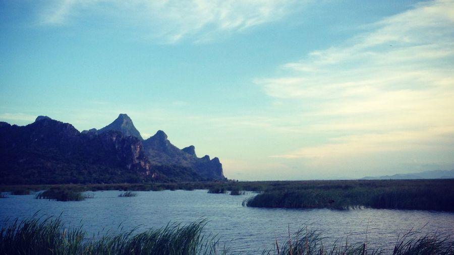 Thailand Khao Sam Roi Yot Bueng Bua ASIA Traveling South East Asia Calm Lake