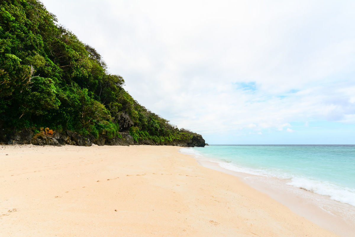 Beach Beauty In Nature Boracay Calm Cloud Cloud - Sky Coastline Day Horizon Over Water Idyllic Nature No People Non-urban Scene Ocean Outdoors Remote Sand Scenics Sea Shore Sky Tranquil Scene Tranquility Vacations Water