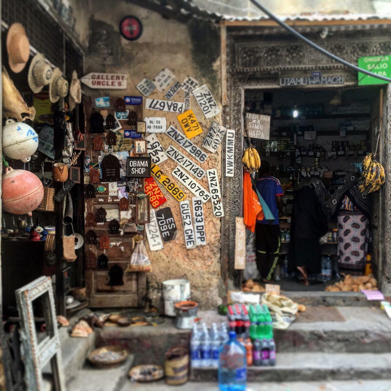 Market Zanzibar Island Stonetown