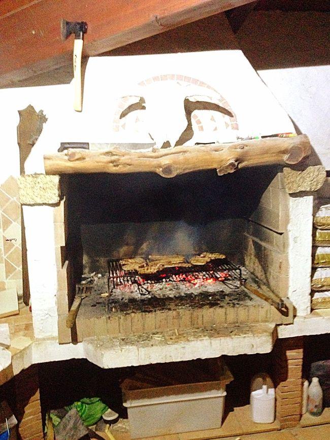 Arrostita Sarda Pancetta e Capocollo 😋😋😋
