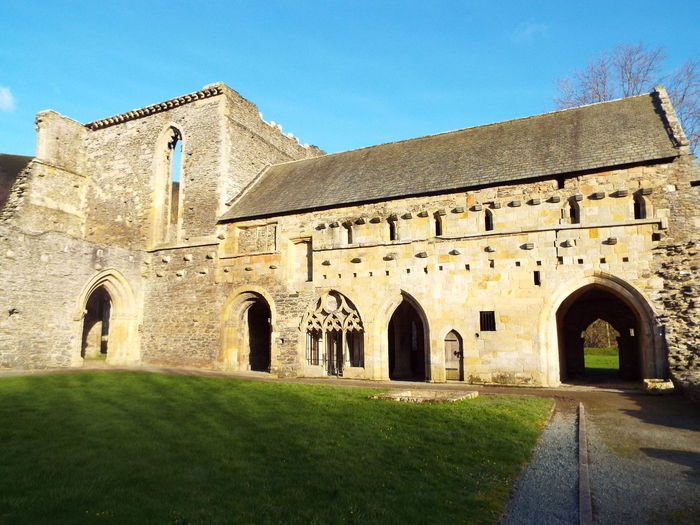Valle Crucis Abbey Historical Building Abbey Ruins Llantysilio Wales United Kingdom