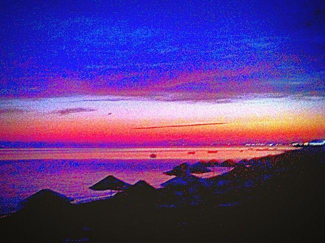 Akşamdan geceye doğru ... Beach Photography