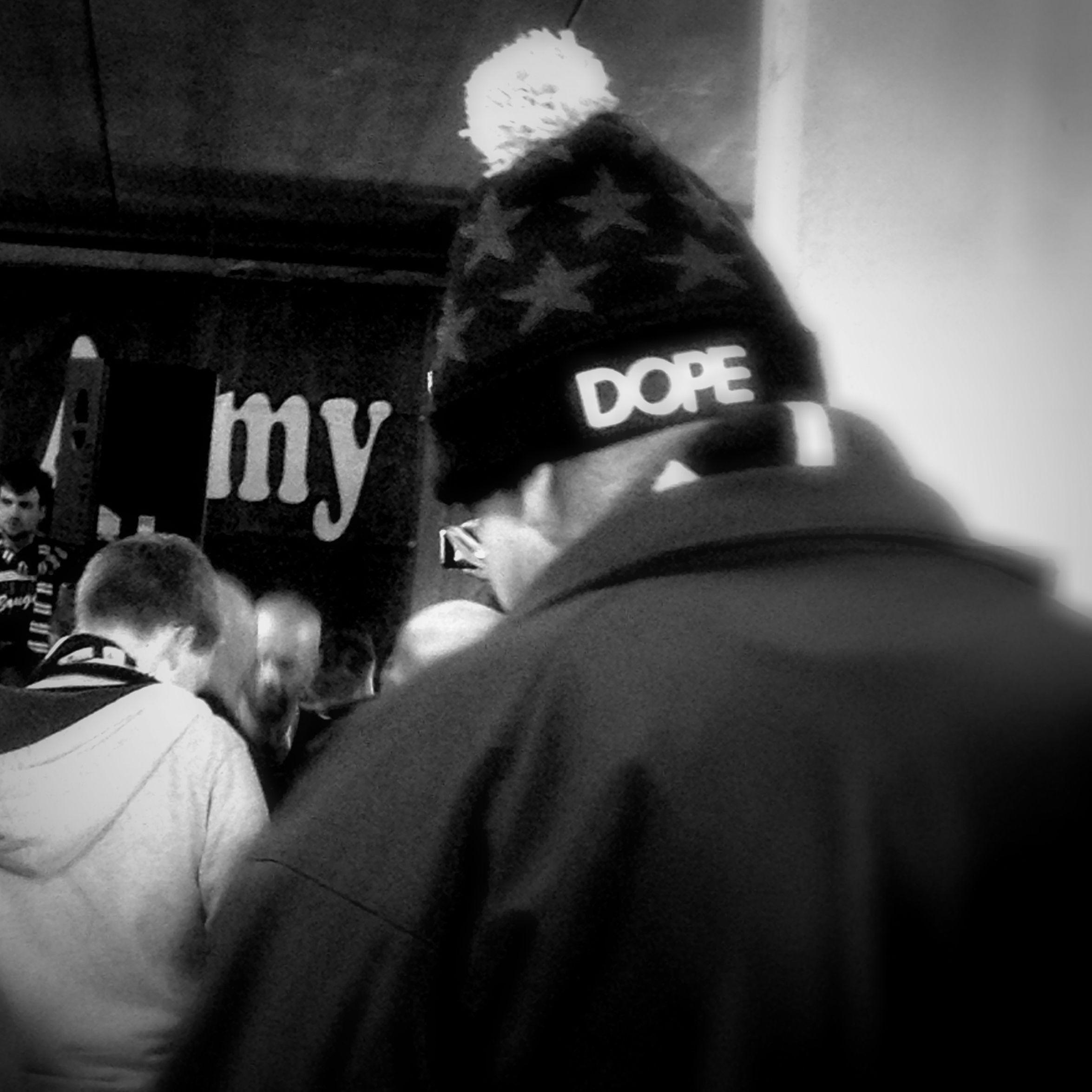 DOPE Monochrome Streetphotography Fashion