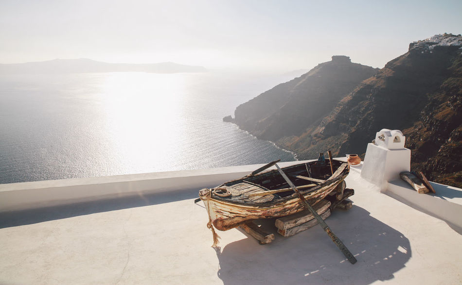 Beautiful stock photos of greece, Architecture, Beauty In Nature, Boat, Building Exterior