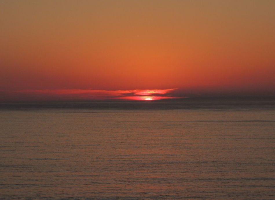 Sunset Another Beautiful Sunset 🌅 Sunset Today Sunset Silhouettes Sunset_collection Sunset_captures Sunsetphotographs Horizon Over Sea Idyllic Scenery Enjoying The Sunset The Purist (no Edit, No Filter) Reñaca Beach , Chile