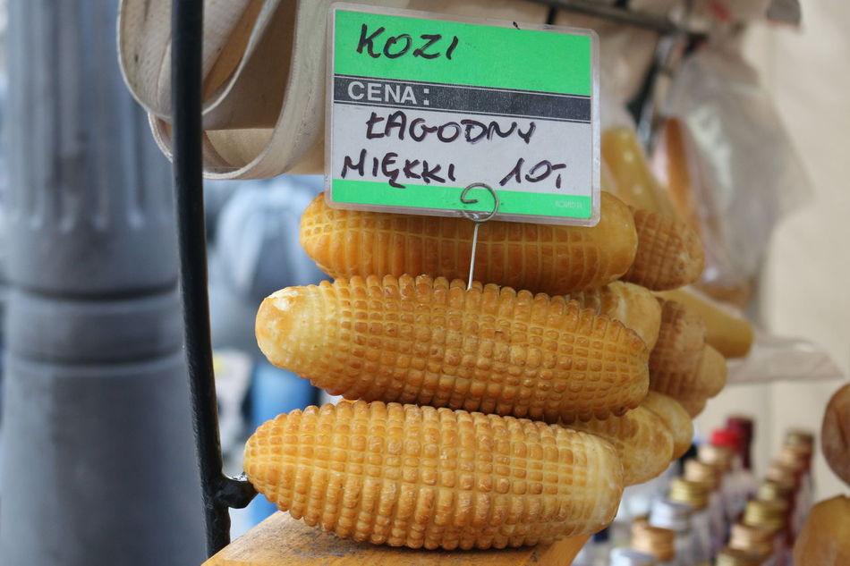 Marketplace Close-up Healty Food Cheese Zakopane, Poland Price Tag Tradicional Food Oscypek, Polish Food Delicious ♡ South Of Poland