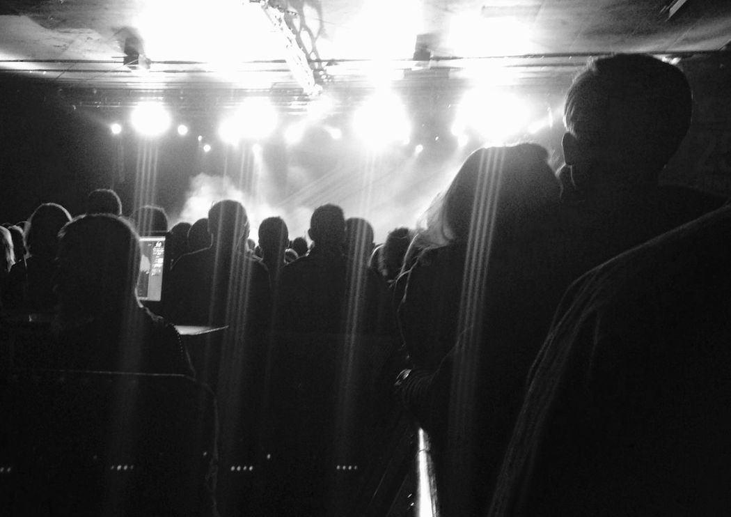 Death Cab For Cutie Crowd People Blackandwhite