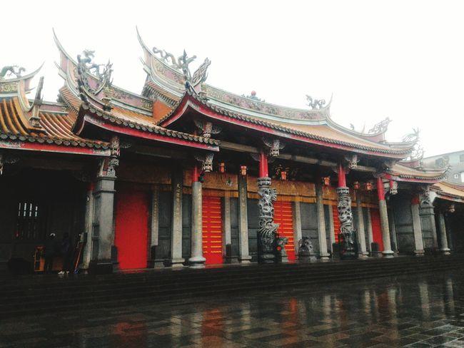 Taking Photo Temple