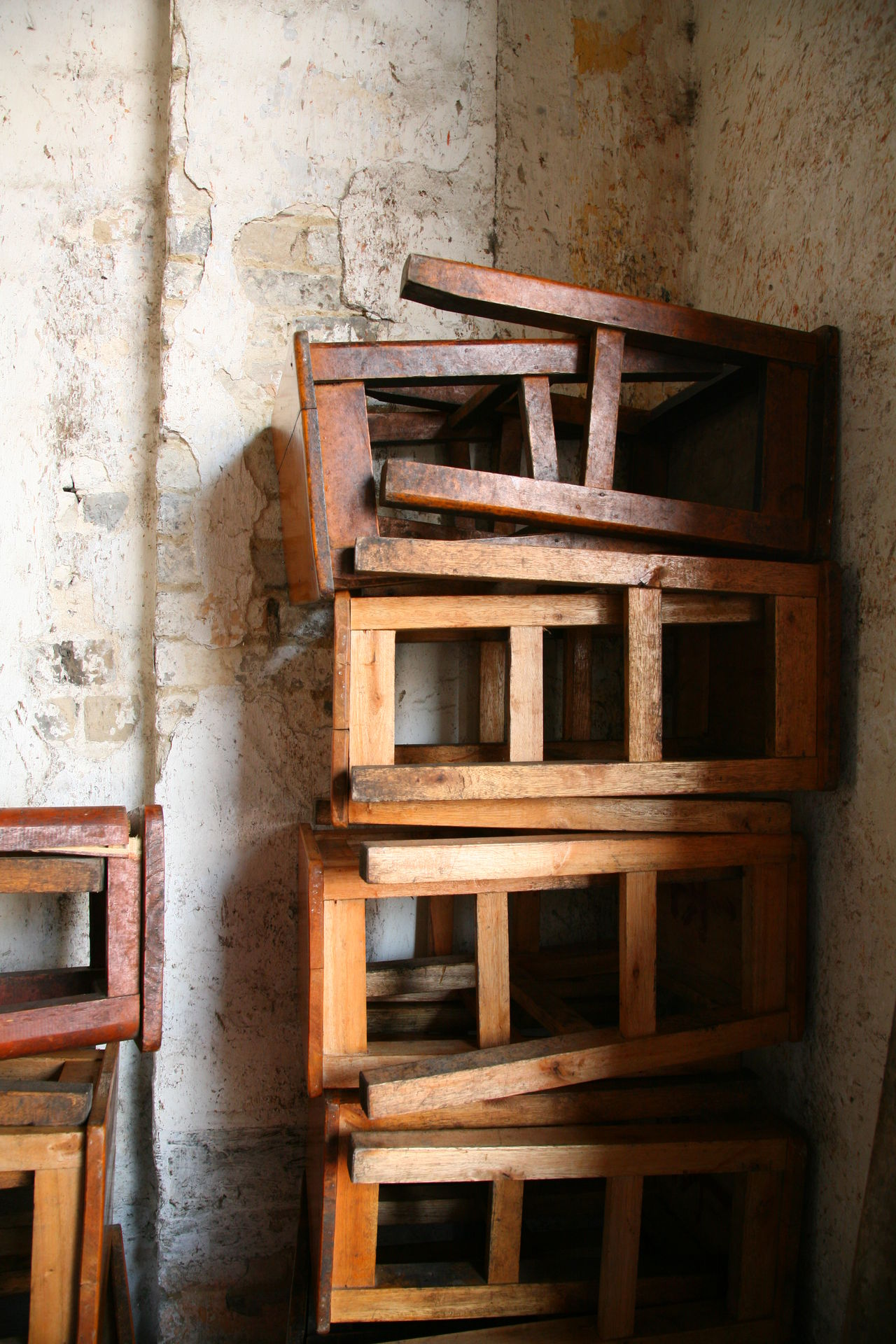 Beautifully Organized Chair Chairs Craft Craftsmanship  Restaurant Street Photography Streetphotography Wooden