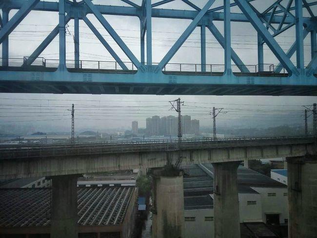 Chongqing China Chongqingcity On The Road People In Transit Train Station Train Rail