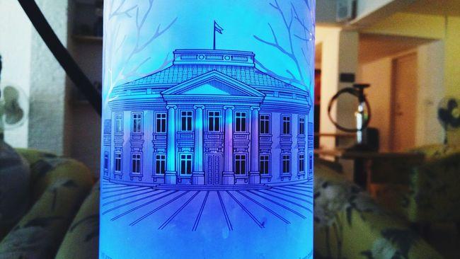 Bored Randomclick Random Jobless Hookah Bar Blue Sketch Bluelight Bottle Glass Close-up