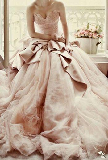 Beautiful Wedding Gown from zsazsabellagio.blogspot.com Wedding Beautiful Dress  Weddingday  Fashion Design