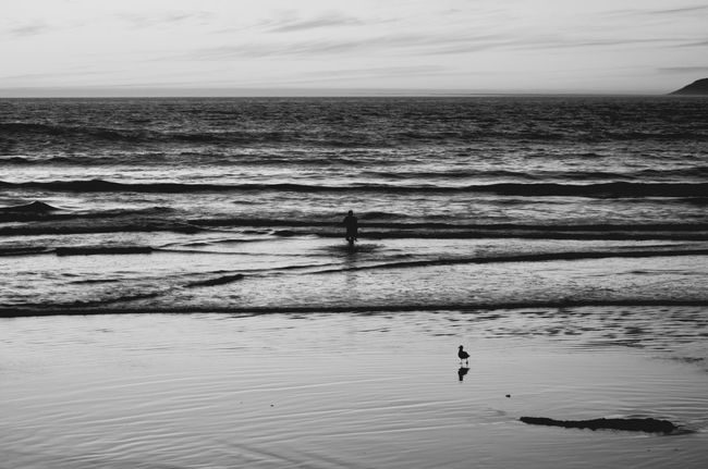 Never gets old...to me Monochrome Photography California