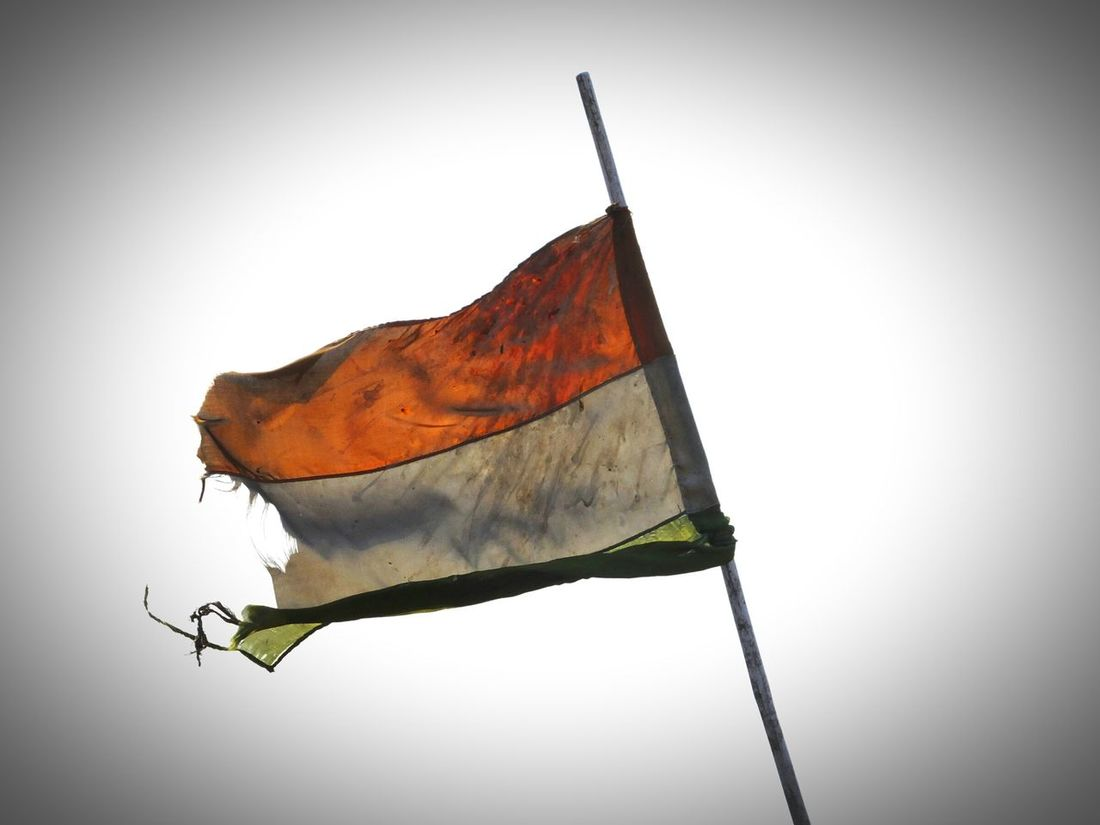 Indian Flag Signs Of Time Old Looks Good
