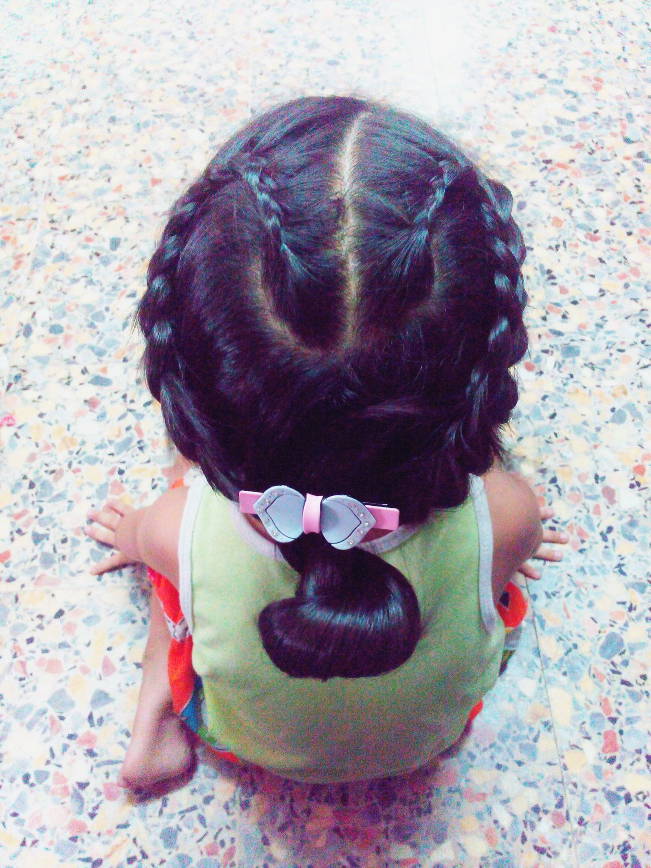Beauty Redefined Just Child Girl And Her Hairstyle Black Hair Canyouseetheheart Noback
