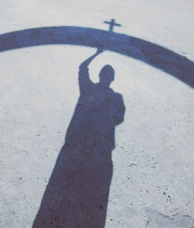 Showcase: February Santorini Island Santorini, Greece GREECE ♥♥ Cross Jesus Is My Savior Worship Jesuslovesme Shadow Enjoying Life Blessed  Blessedandthankful Blessedlife EyeEm JesusIsLord