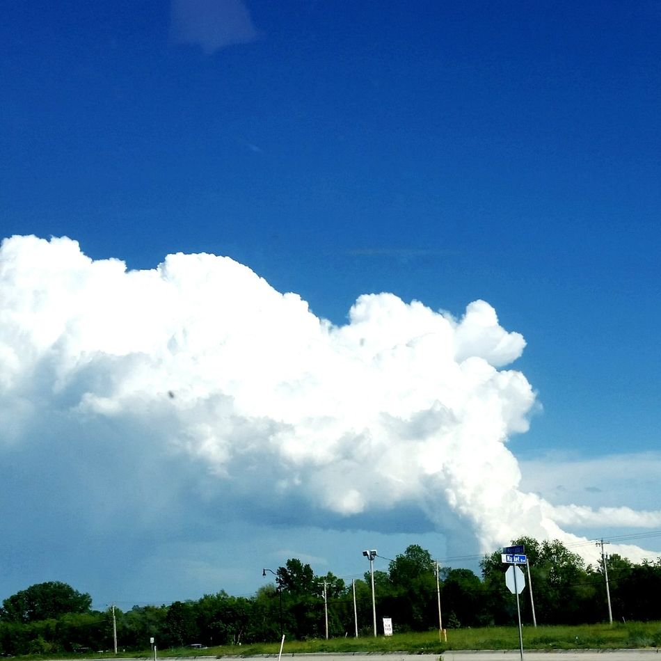 Storm Clouds Cloudscape Tail of the storm Check This Out Oklahoma Skies Weather Photography Adapted To The City