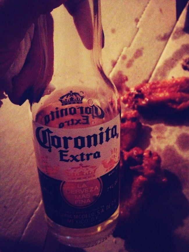 Refrescateeeee !! Coronitas & Wings ❤