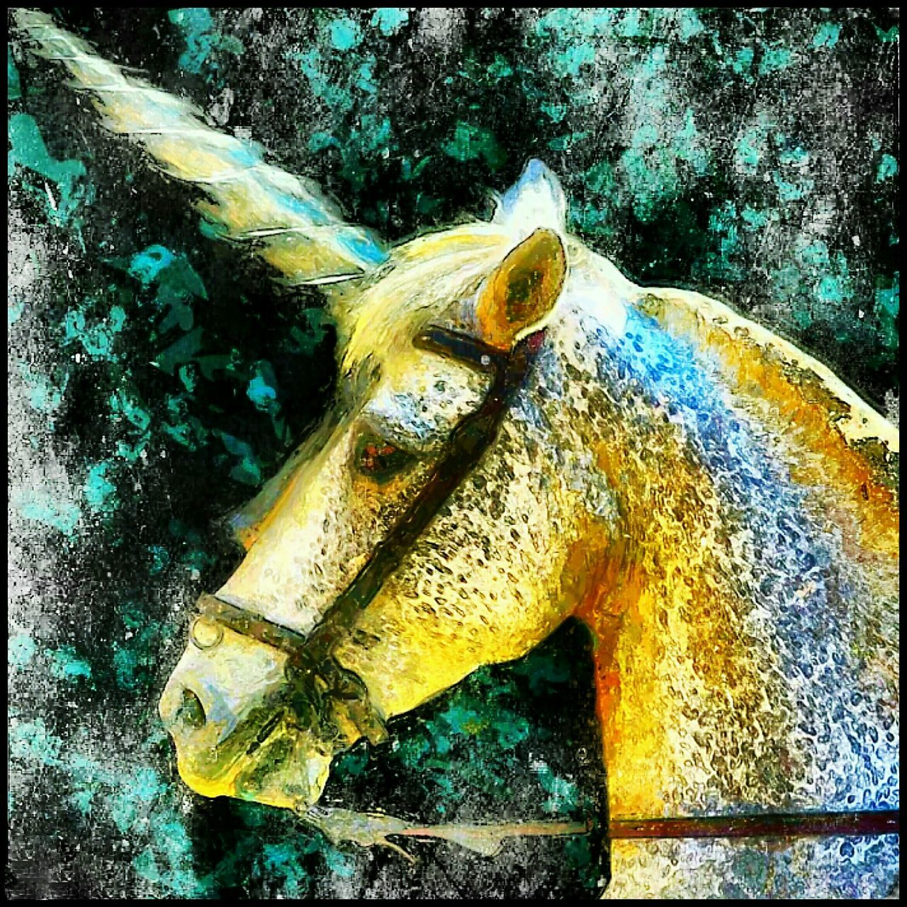Bridled Unicorn.Unicorn Creative Apps Android Creative CreativePhotographer Filtered & Fidoodled Effects & Filters Tablet Art Phone Art Picsaypro  Painter Androidography Android Creative Android Art Pixtortionist Art Pixtortion Bridled Unicorn Awehaven Art NEW BLOG ADDRESS http://awehavenart.blogspot.ae/?m=1