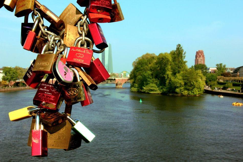Beautiful stock photos of frankfurt, Building Exterior, Chain, City, Clear Sky