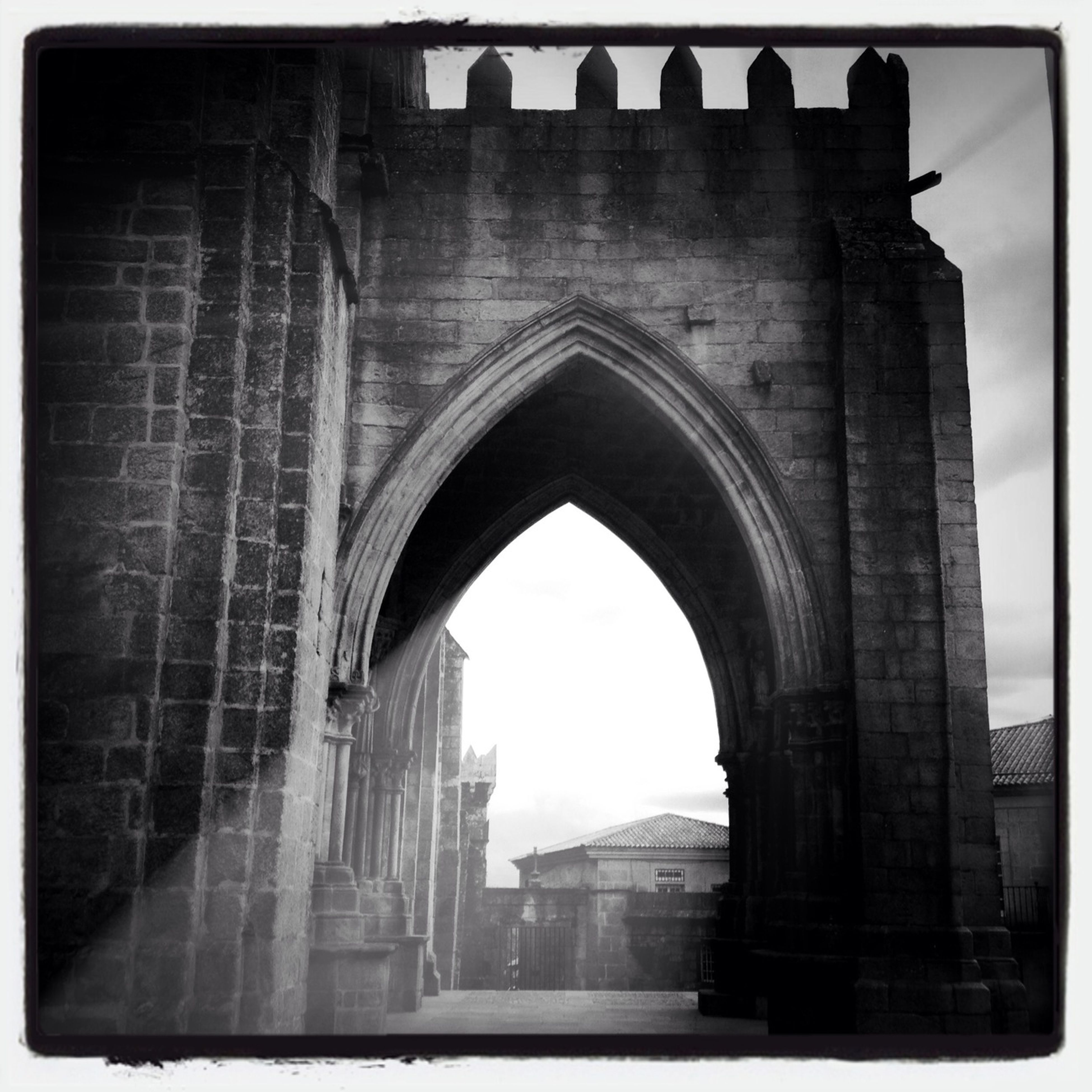 architecture, built structure, arch, transfer print, building exterior, history, auto post production filter, archway, old, indoors, arched, travel destinations, the past, old ruin, day, building, the way forward, historic, ancient, low angle view