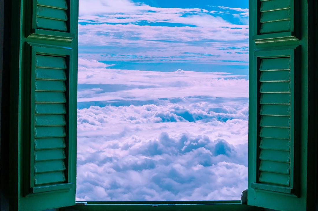Window Cloud - Sky Sky Day No People Outdoors Building Exterior Nature Architecture Close-up