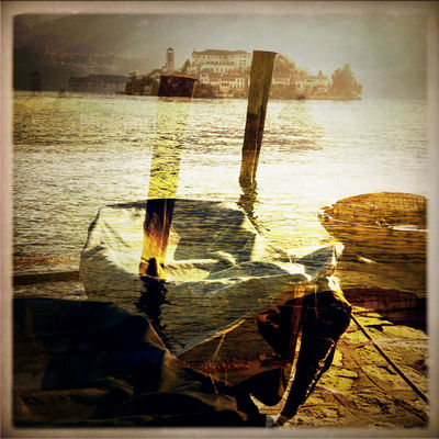 Dreaming at Piazza Orta San Giulio by Adirak