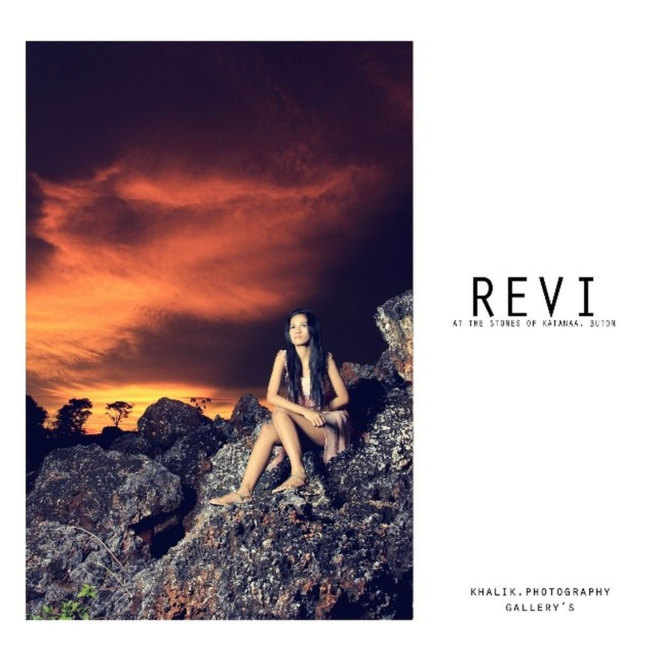 Revi Fahlevi Model Baubaugraphy Ggmodels Sunset pictureoftheday bestpicture photographer light