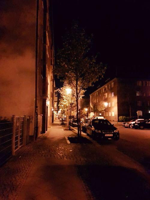 Car Night Illuminated No People Land Vehicle Outdoors