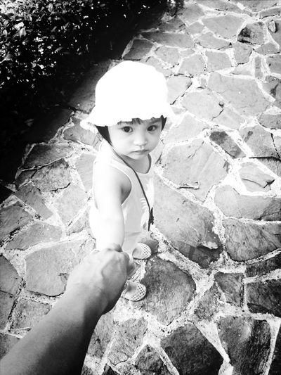 Follow Me Father And Daughter Love Fortheloveofblackandwhite