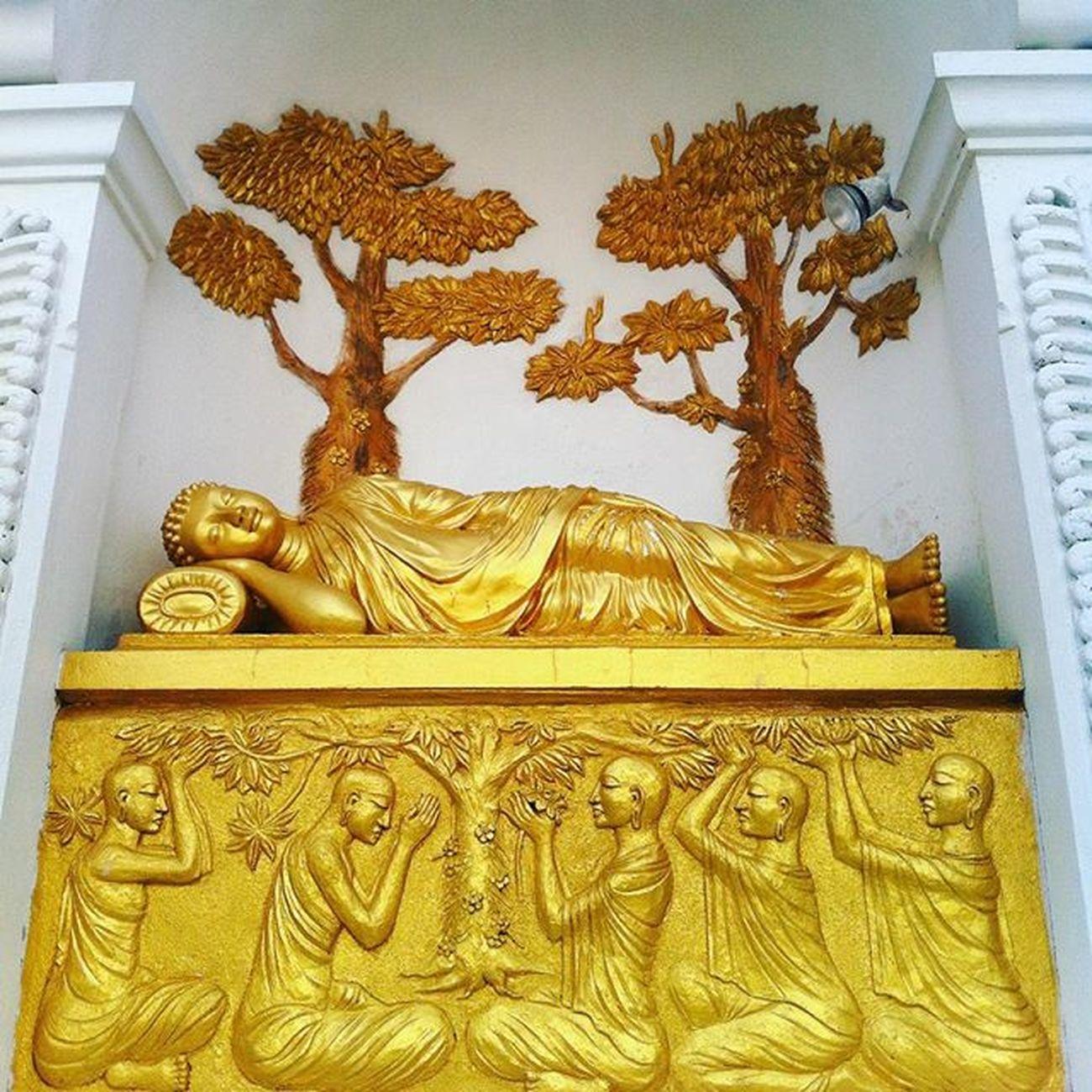 Peace Pagoda SriLanka Unawatuna Sleepingbuddha Instaphoto Instagram Instatravel Sacred Religion Gold Sculpture Details Street Photography Traveltheworld Exploring Wunderlust Photooftheday Travel Photography Travelgram Jetsetter Photography Travel Scenery Shot