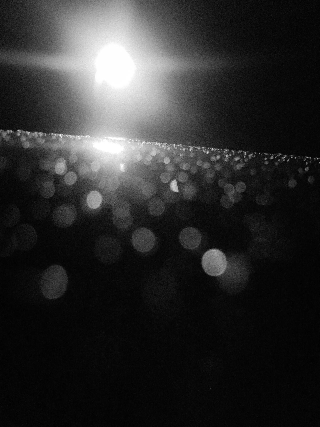 Illuminated Night No People Dark Low Angle View Close-up Light Sky Nature Indoors  Light Effect Street Light EyeEm Best Shots The Week Of Eyeem Fresh On Eyeem  Freshness RainDrop Water Refection Metallic Minimalist Black And White Photography