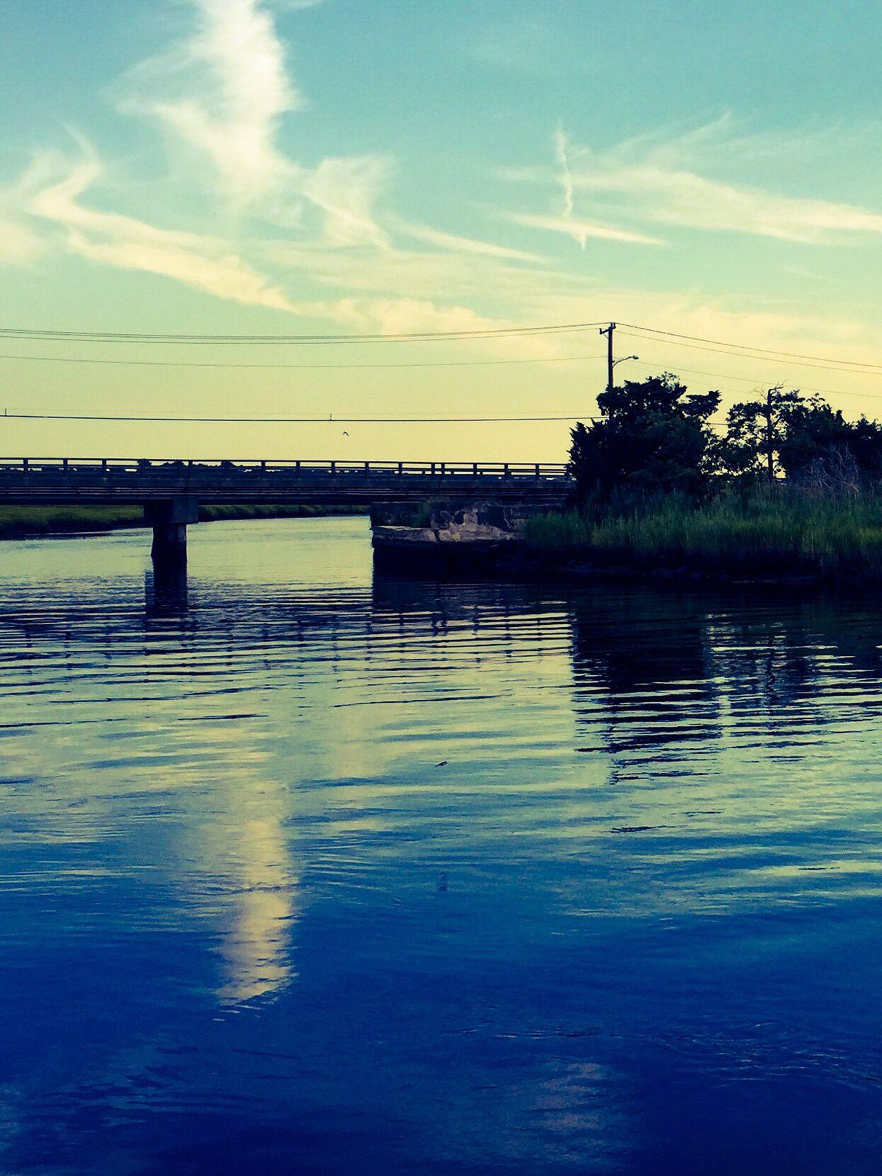 Tuckahoe River Boat Ride Bridge Boatview Water Summer
