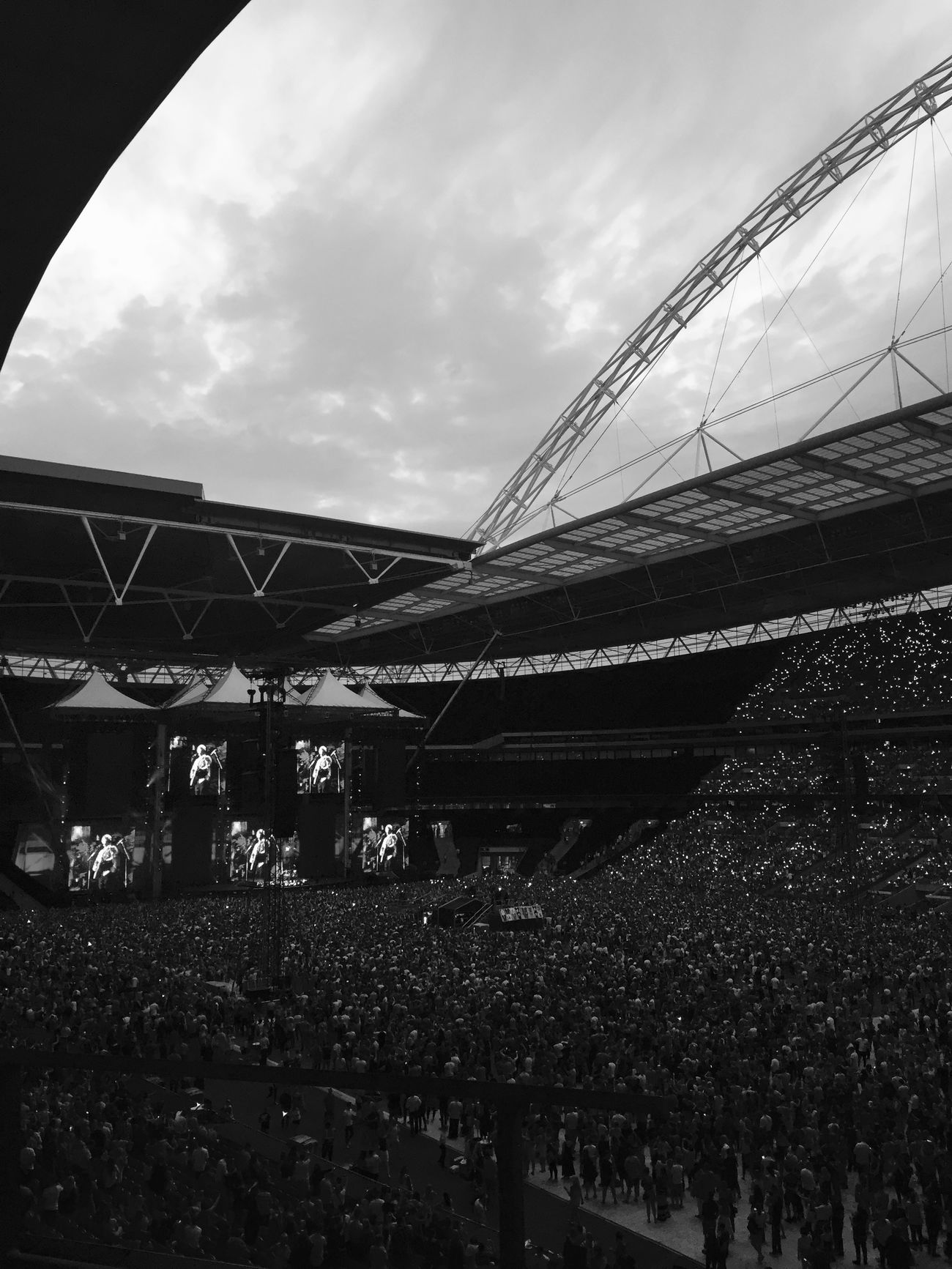 Ed Sheeran concert. Opening night -10th July 2015 IPhoneography Iphone6 Edsheeranconcert Edsheeran