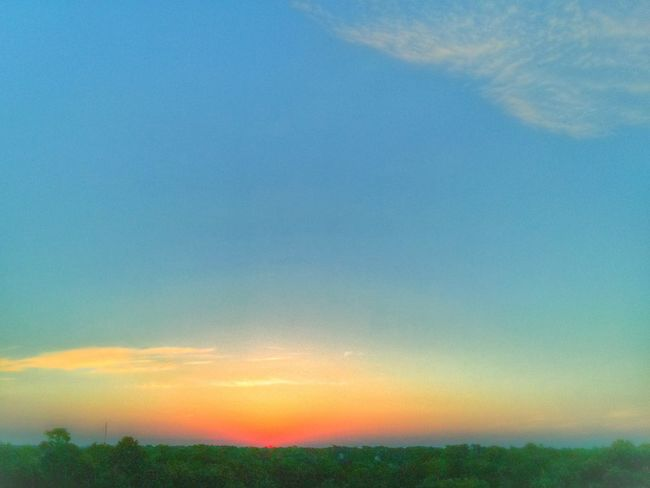 Where Do You Swarm? When I'm at work this is my favorite view of the world. Sunrise Cloud And Sky Landscape