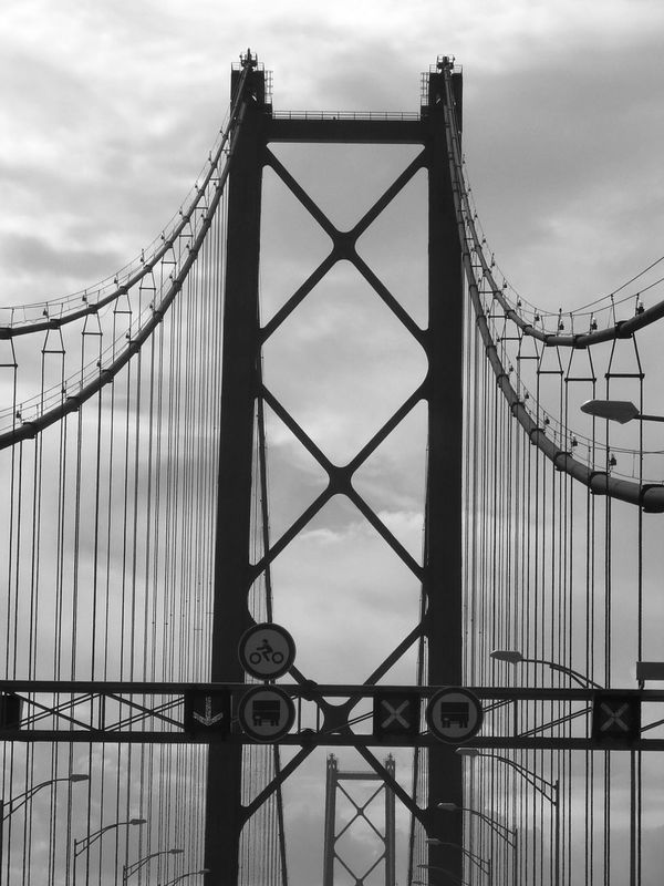Portugal Ponte25deabril Black & White Outdoors On The Road Discover Your City Lisbon Lisboa Rio Tejo
