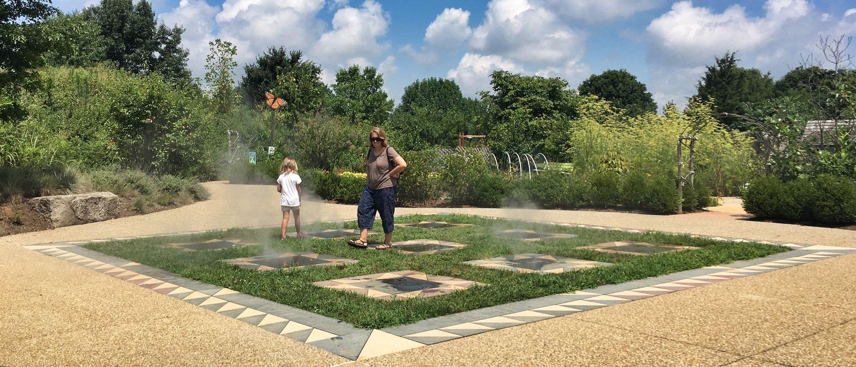University of Kentucky Arboretum Children's Garden mister
