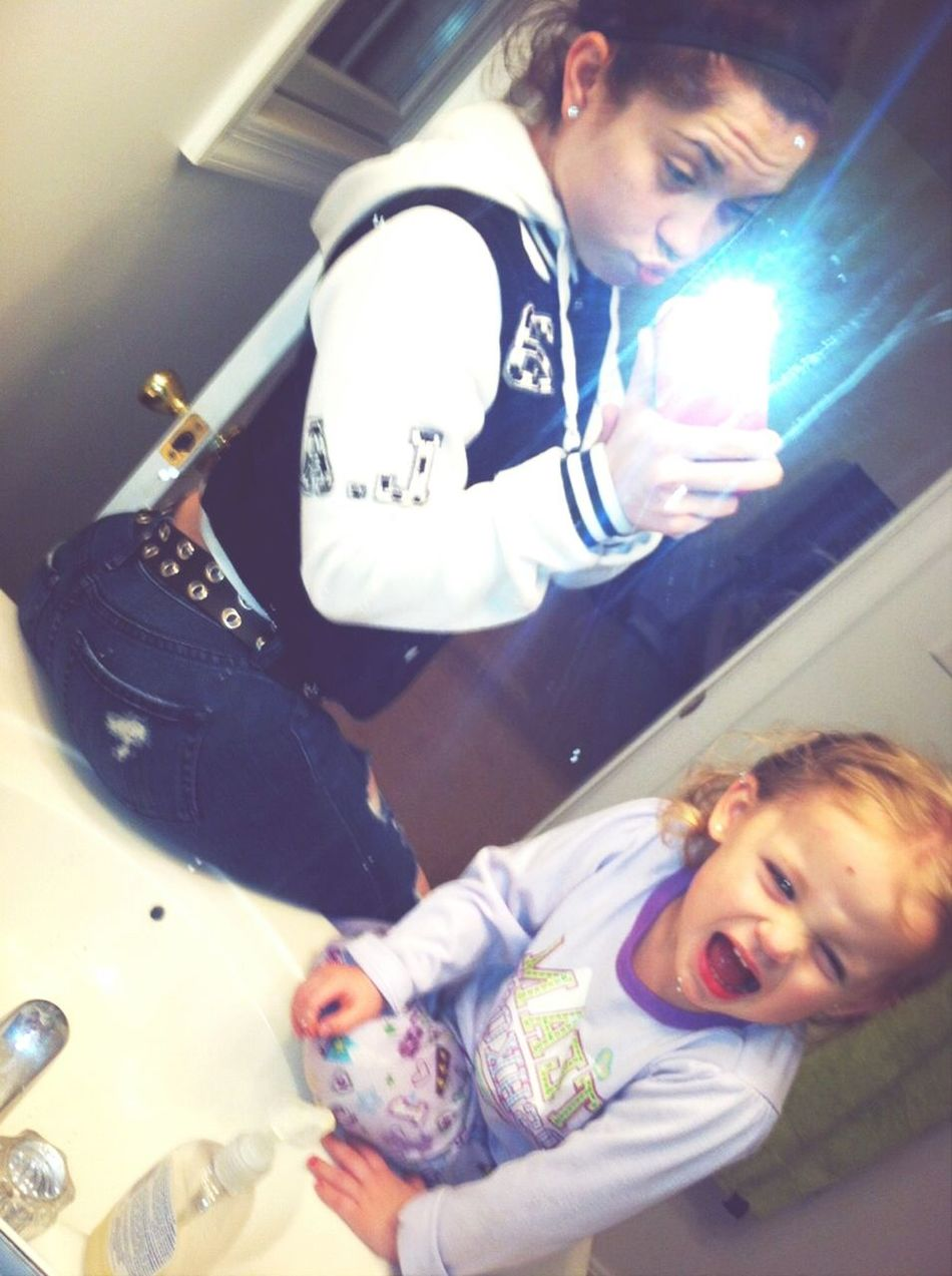 My Favorite Pic Of Me And My Babygirl <3333