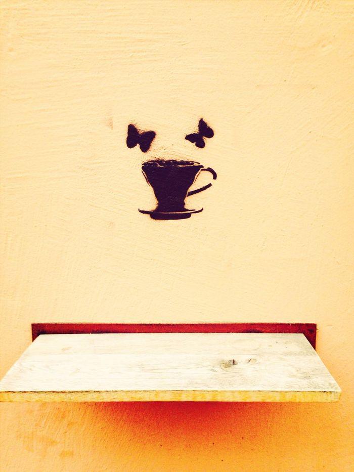 Chai Latte Good Morning Streetart