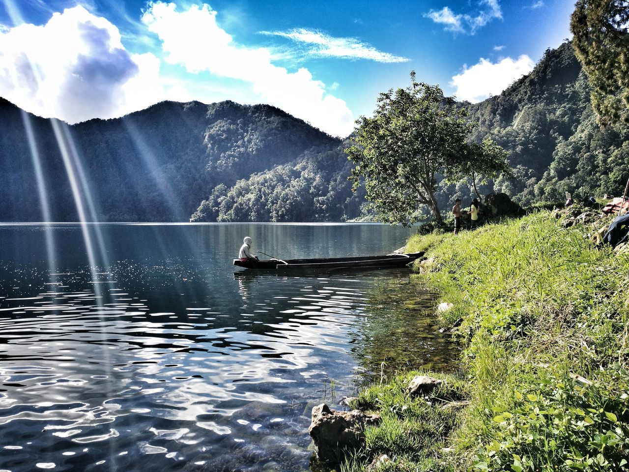 Live For The Story Lakeholon Lakeholonphilippines Lake Holon Travelph LakeHolonMtParker Amateurphotography Water Canoe Trekking Philippines Lake Outdoors PhonePhotography Nature Scenics Day