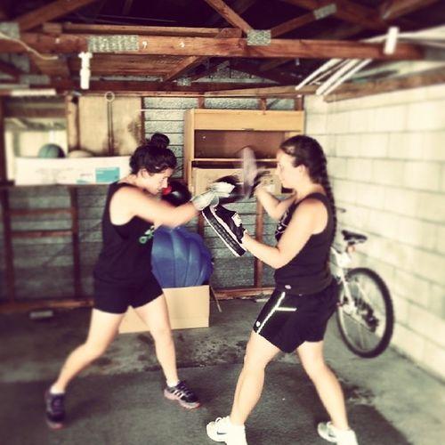 Boxing!!! Adidas Allday Fit Focuspads 2014bringiton!!