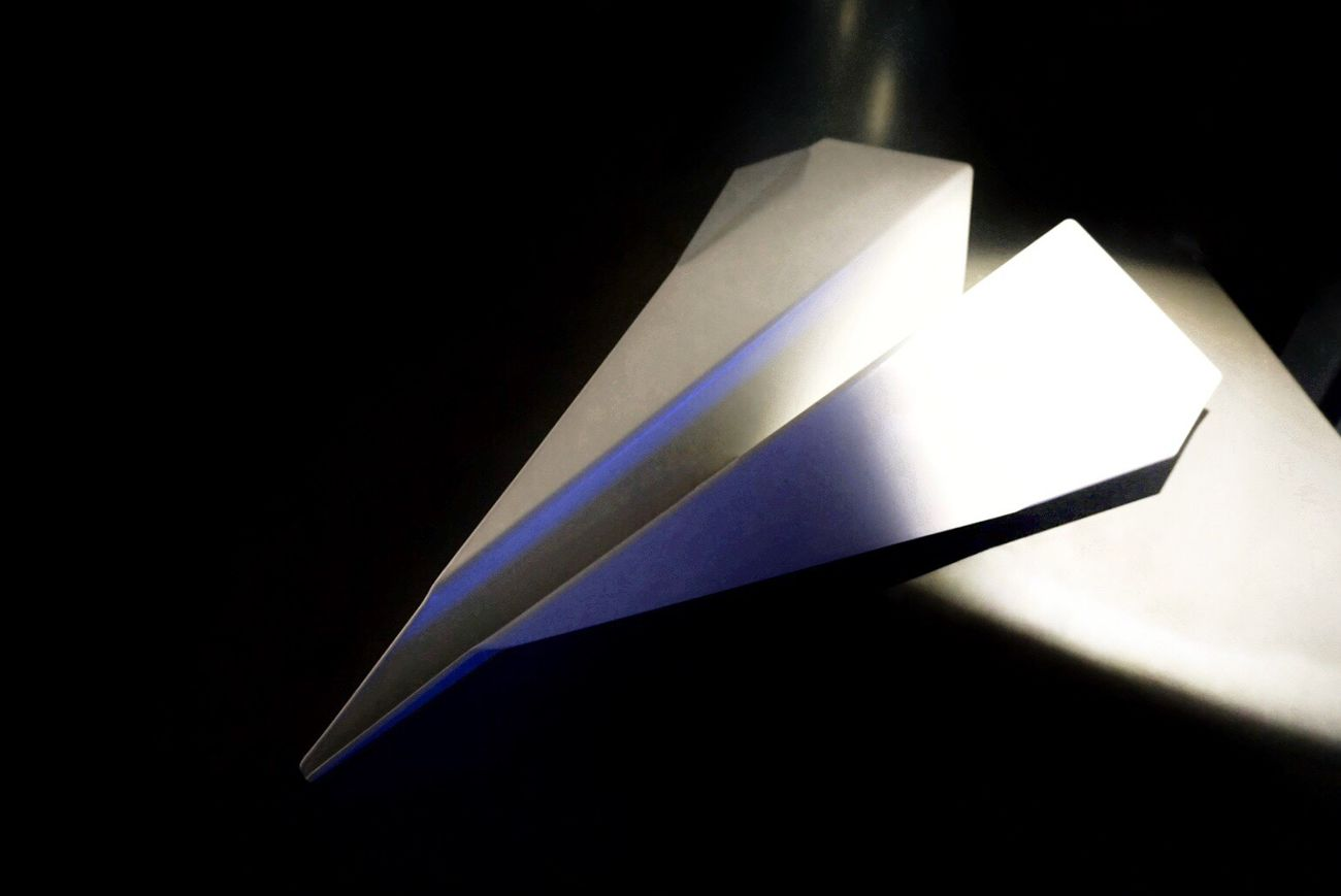 That's the thing about life... you never really know where it takes you. Black Background No People Paper Close-up Illuminated Indoors  Paperplanes Travel Fly Love Photography Minimalism Simplicity Still Life