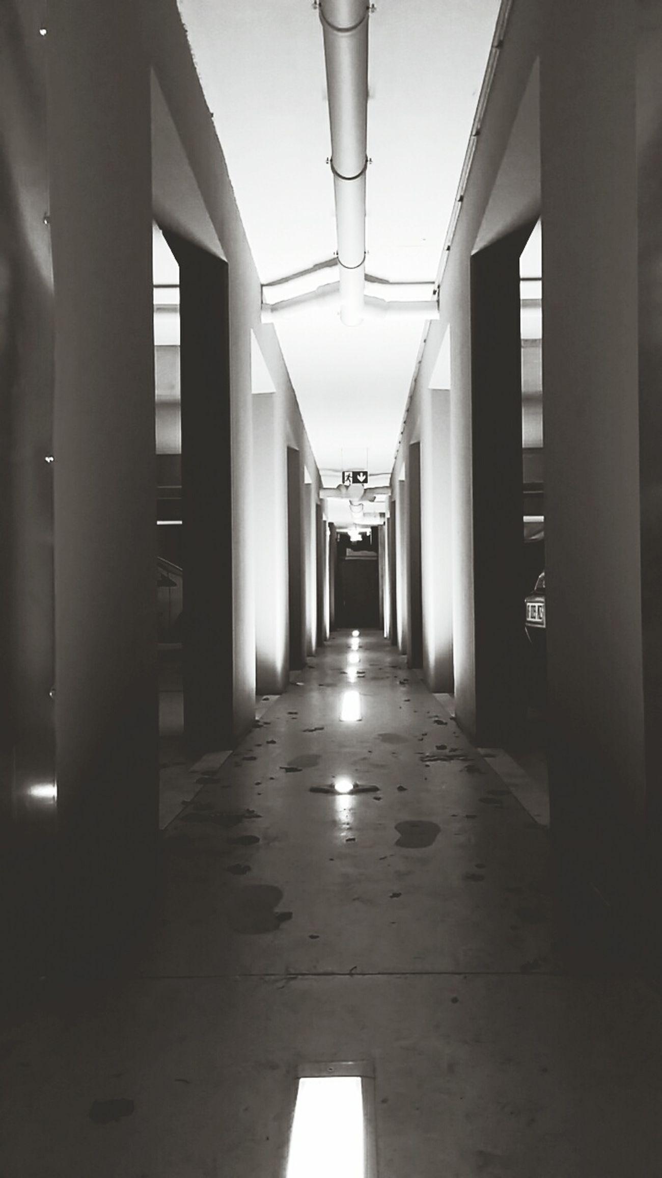 Underground Passage Light And Shadow Urban
