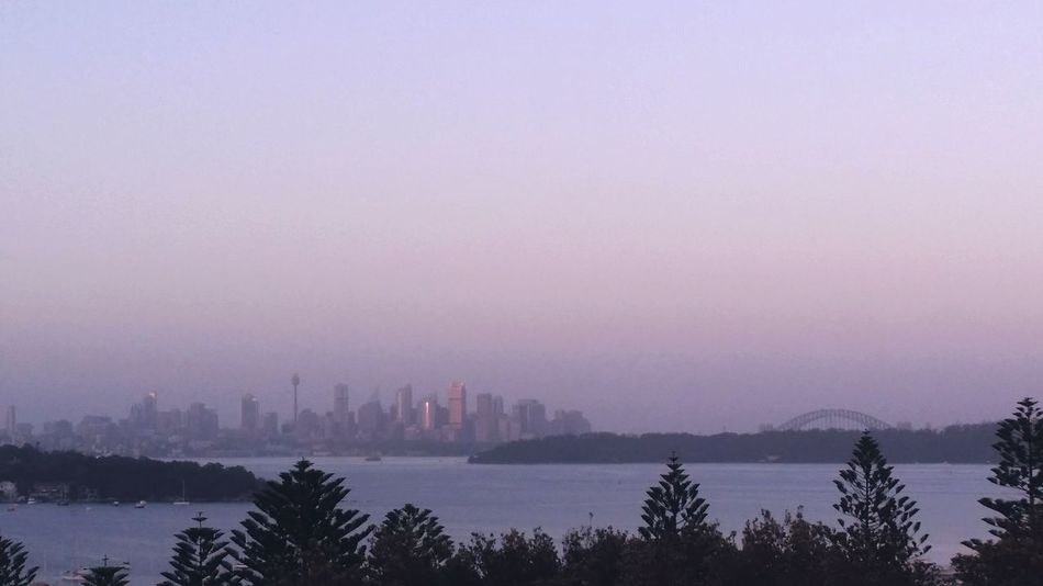 Sydneycbd First Morning Of 2015 with first sunlight on the city