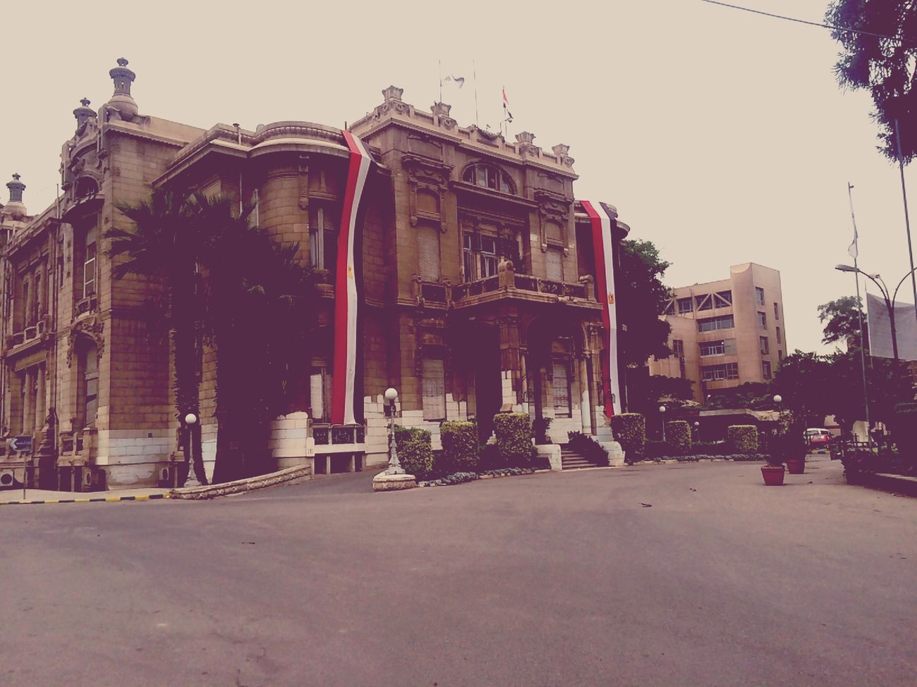 Building Old Buildings Structures Vintage Egypt Flag Construction Historical Building Great