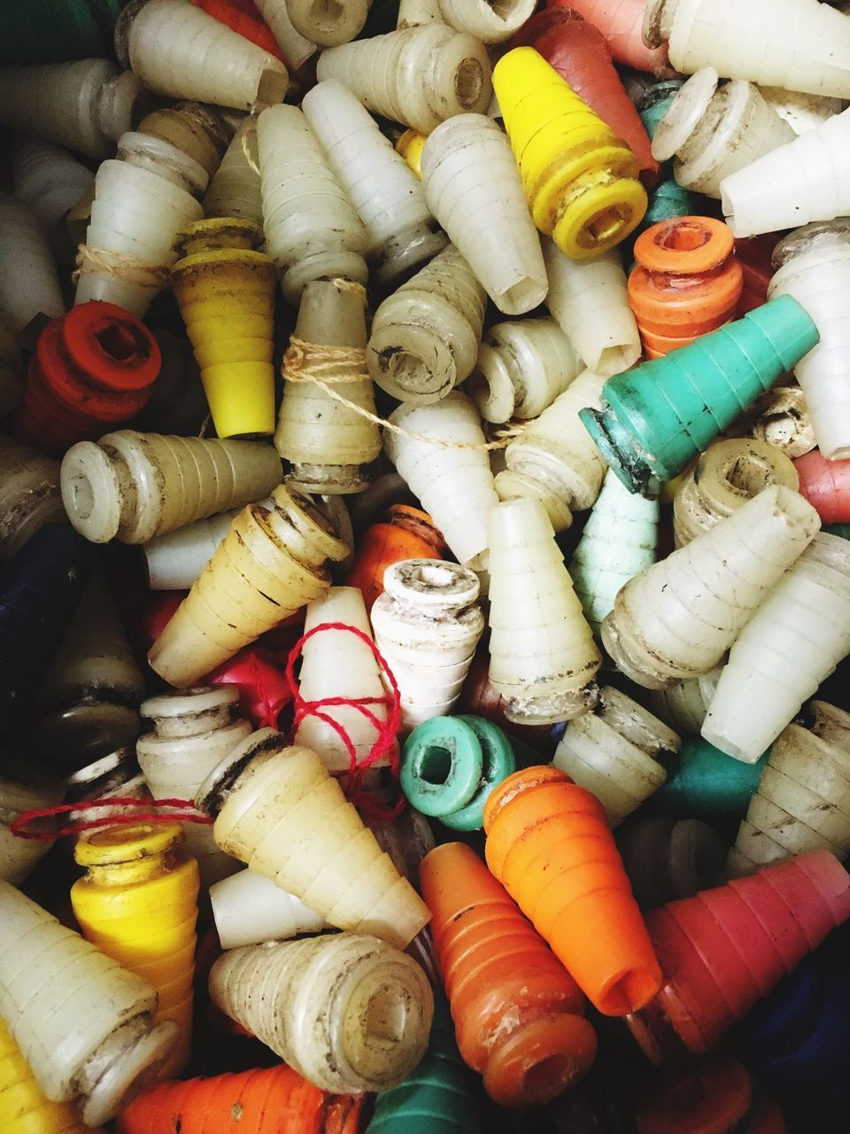 multi colored, variation, art and craft, spool, sewing item, large group of objects, backgrounds, no people, choice, full frame, high angle view, indoors, close-up, day
