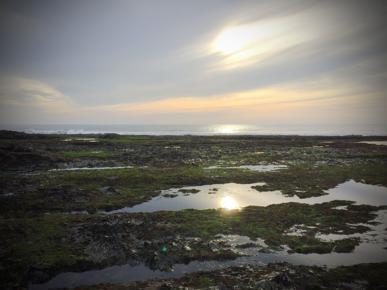 Cloud Clous Ocean Rockpool Sea Sun Sunset Sunset_collection The Gower The Gower In Beautiful Wales Wales Worms Head