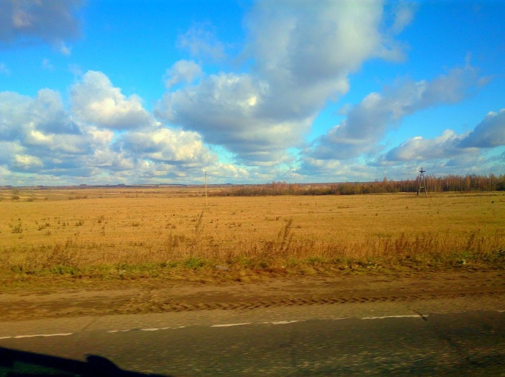 On The Road EyeEm Nature Lover Colors Of Autumn road to Vladimir